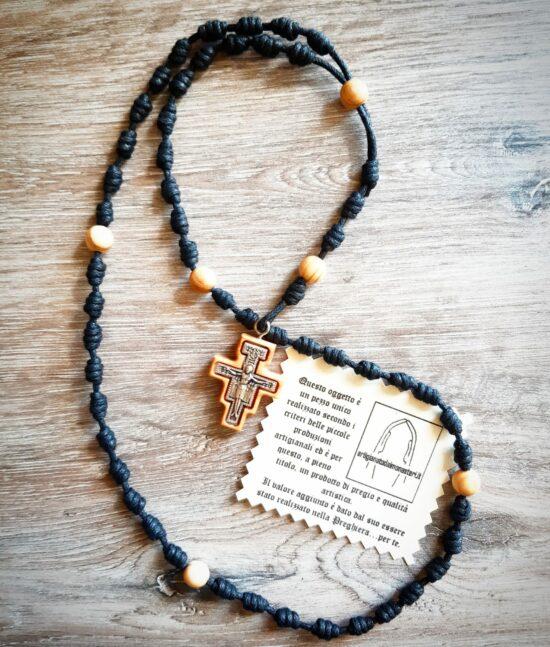 Rosario di San Damiano con nodo francescano
