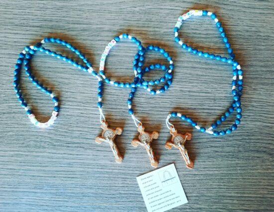 Rosario Personalizzabile con Nomi e croce San Benedetto
