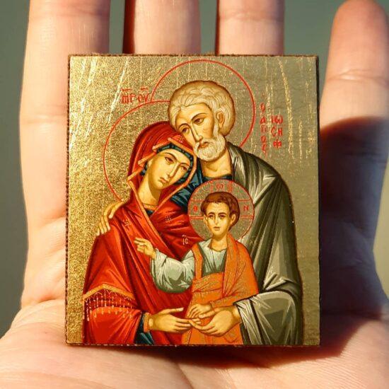 Bellissima Icona santa Famiglia